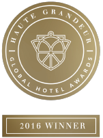 "Barvikha Hotel & Spa is the winner in ""Best design hotel in Europe"" nomination of the Haute Grandeur Global Hotel Awards 2016"